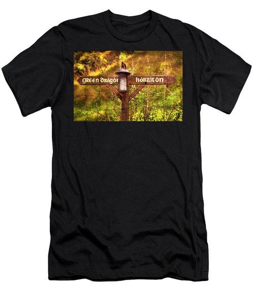 Choose Your Path Men's T-Shirt (Athletic Fit)