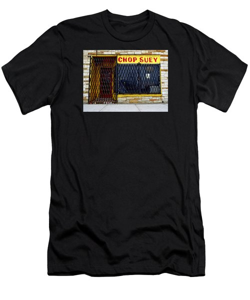 Chop Suey Men's T-Shirt (Slim Fit) by David Gilbert
