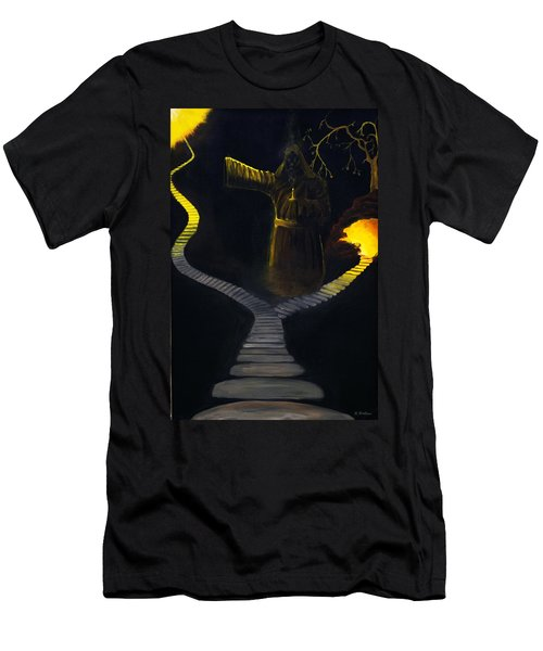 Chosen Path Men's T-Shirt (Slim Fit) by Brian Wallace