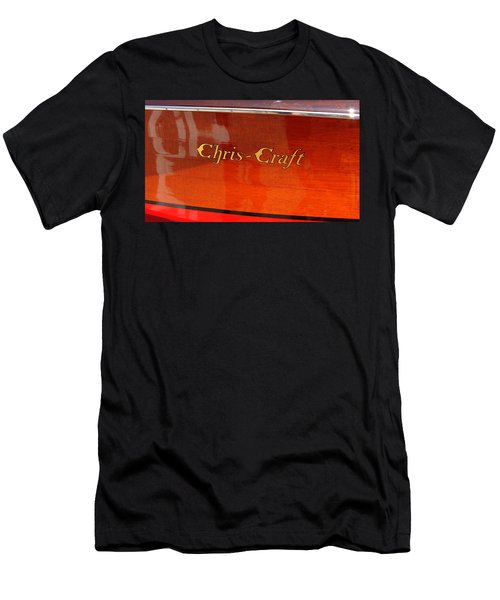 Chris Craft Logo Men's T-Shirt (Athletic Fit)