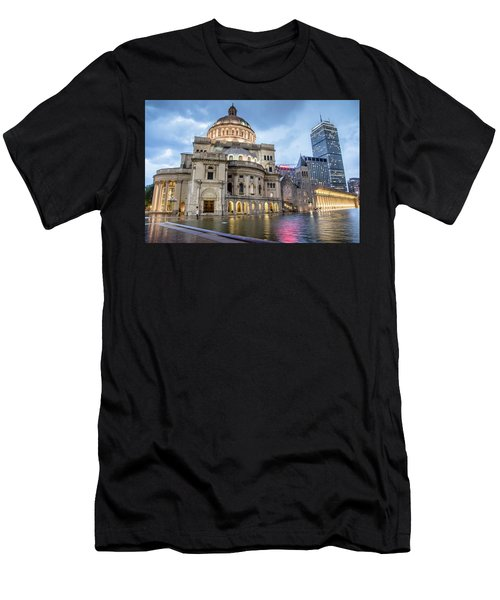 Christian Science Center In Boston Men's T-Shirt (Athletic Fit)