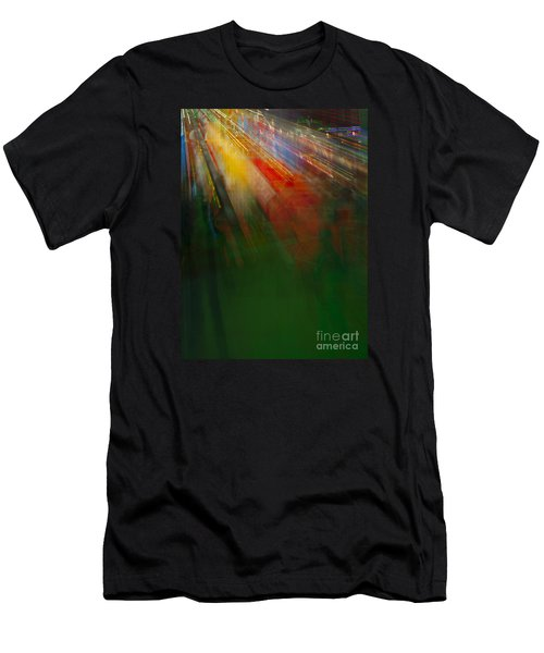 Christmas Abstract Men's T-Shirt (Athletic Fit)