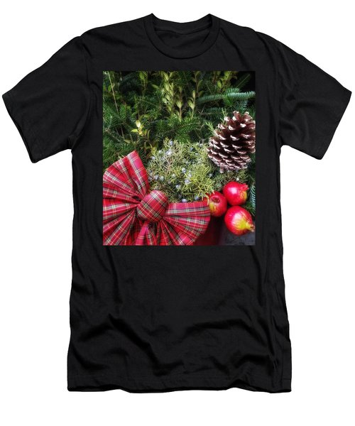 Christmas Arrangement Men's T-Shirt (Athletic Fit)