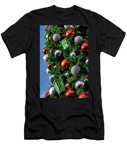 Christmas Balls Men's T-Shirt (Athletic Fit)