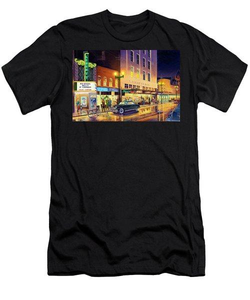 Christmas Corner Men's T-Shirt (Athletic Fit)