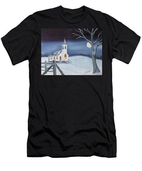 Christmas Eve Men's T-Shirt (Athletic Fit)
