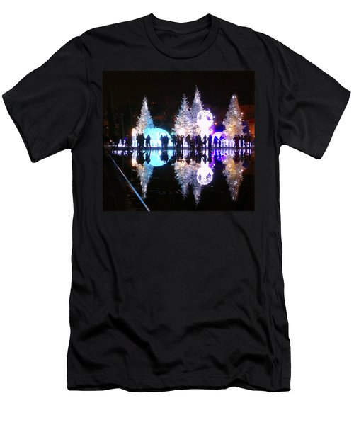 Christmas In Nizza, Southern France Men's T-Shirt (Athletic Fit)