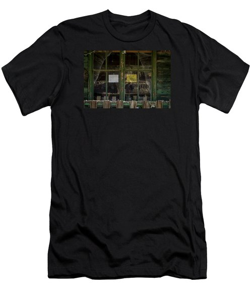 Christmas Lights And Reflections Men's T-Shirt (Athletic Fit)