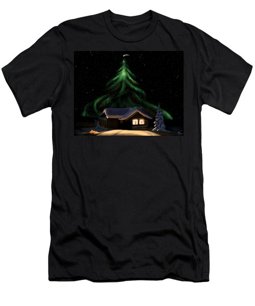 Christmas Lights Men's T-Shirt (Athletic Fit)