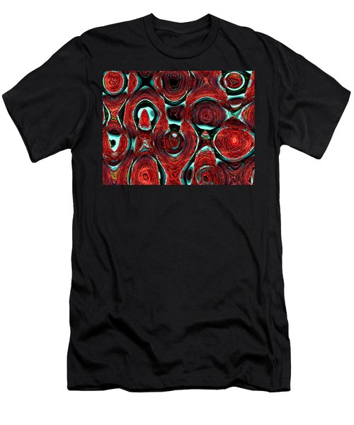 Christmas Ornaments--back In The Box Men's T-Shirt (Slim Fit)