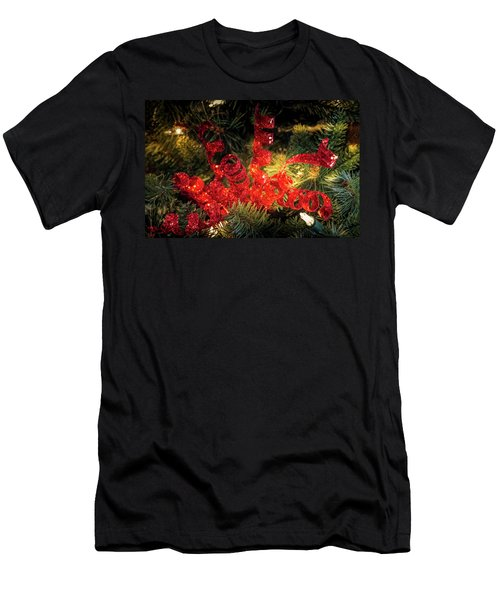 Christmas Red Men's T-Shirt (Athletic Fit)
