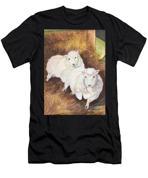 Christmas Sheep Men's T-Shirt (Athletic Fit)