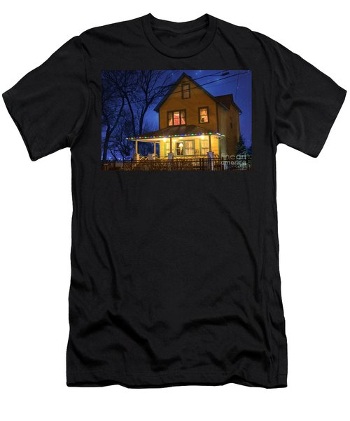 Christmas Story House Men's T-Shirt (Athletic Fit)