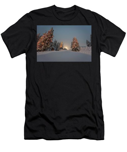 Christmas Trees  Men's T-Shirt (Athletic Fit)