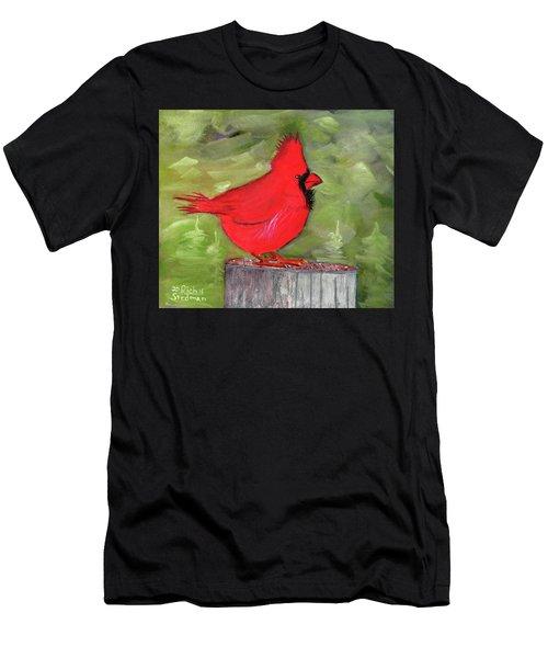 Christopher Cardinal Men's T-Shirt (Athletic Fit)