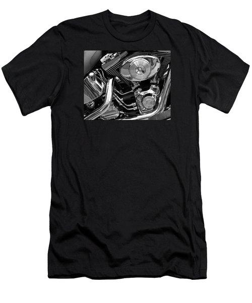 Men's T-Shirt (Slim Fit) featuring the photograph Chrome by Lynda Lehmann