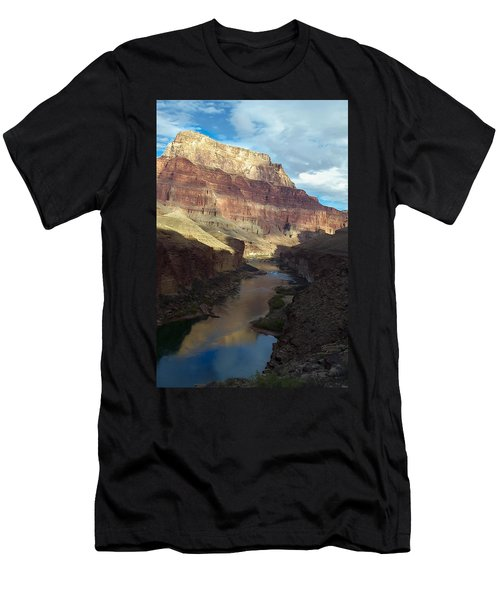 Chuar Butte Colorado River Grand Canyon Men's T-Shirt (Athletic Fit)