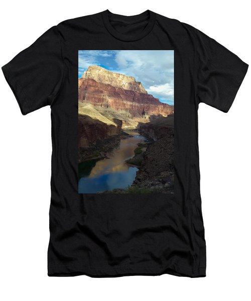 Chuar Butte Colorado River Grand Canyon Men's T-Shirt (Athletic Fit)