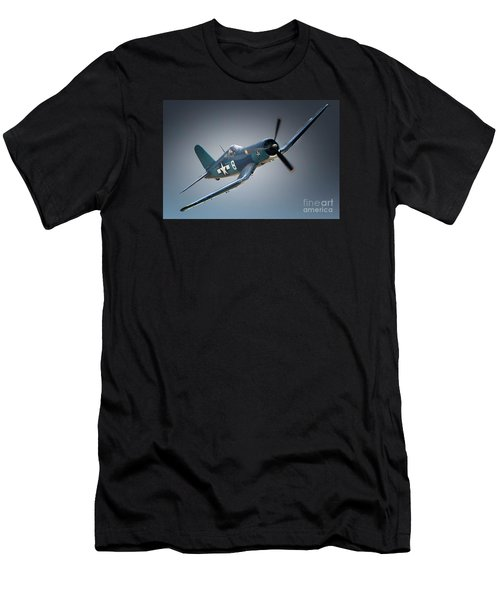 Chuck Wentworths F4u Corsair No.8 Men's T-Shirt (Athletic Fit)
