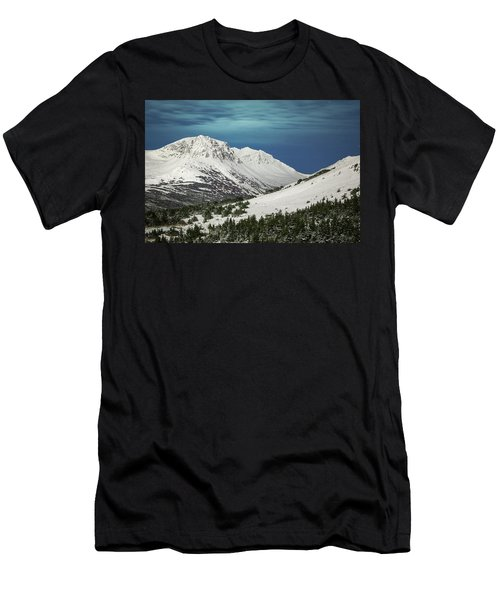 Chugach Night Men's T-Shirt (Athletic Fit)