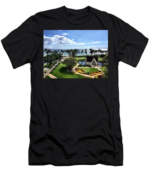 Church In Paradise Men's T-Shirt (Athletic Fit)