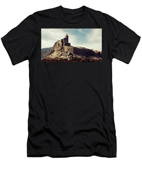 Church Of San Pietro Men's T-Shirt (Slim Fit) by Joseph Westrupp