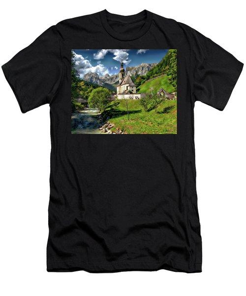 Church Of St. Sebastian Men's T-Shirt (Athletic Fit)
