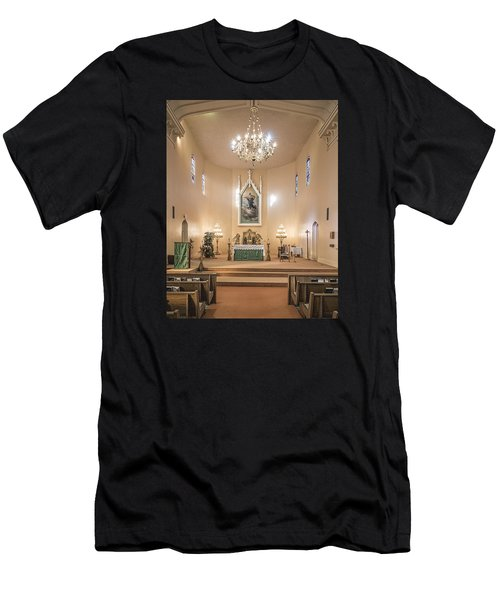 Church Of The Assumption Of The Blessed Virgin Altar Men's T-Shirt (Athletic Fit)