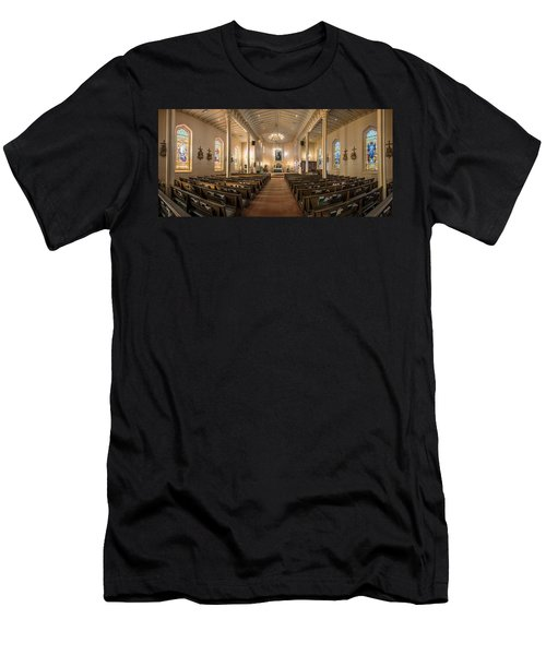 Church Of The Assumption Of The Blessed Virgin Pano 2 Men's T-Shirt (Athletic Fit)