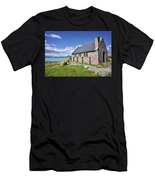 Church Of The Good Sheperd Men's T-Shirt (Athletic Fit)