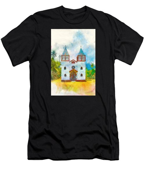 Church Of The Holy Family Men's T-Shirt (Athletic Fit)
