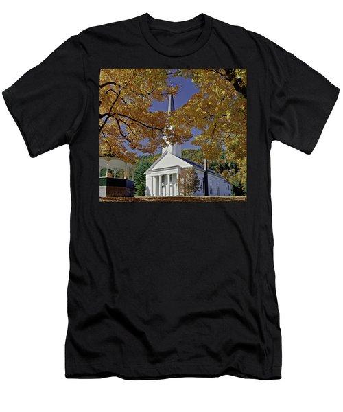 Church, Sharon Vermont Men's T-Shirt (Athletic Fit)