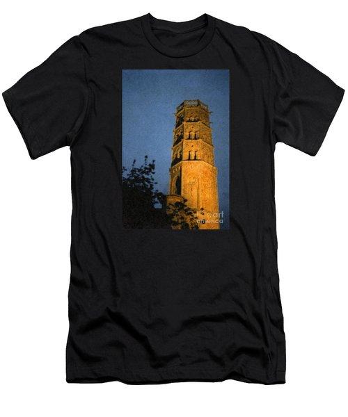 Men's T-Shirt (Slim Fit) featuring the photograph Church Steeple by Jean Bernard Roussilhe