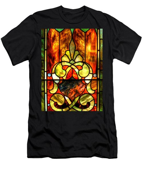 Church Window Men's T-Shirt (Athletic Fit)