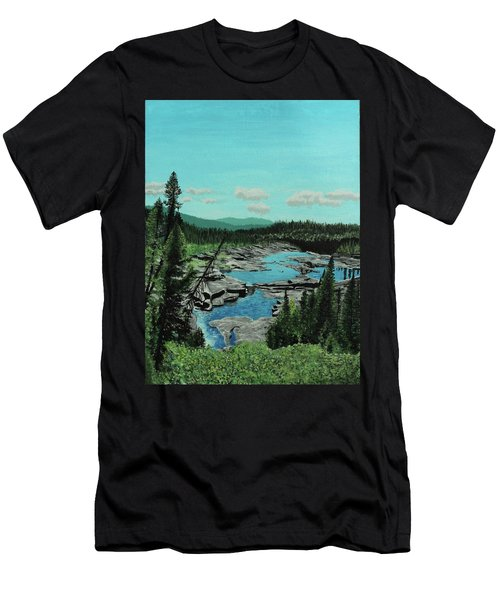 Churchill River Men's T-Shirt (Athletic Fit)