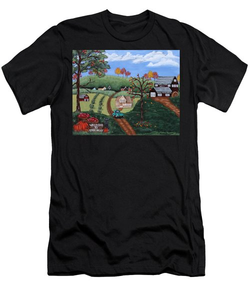 Cider Valley Men's T-Shirt (Athletic Fit)