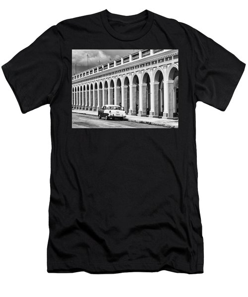 Men's T-Shirt (Athletic Fit) featuring the photograph Cienfuegos, Cuba by Lou Novick