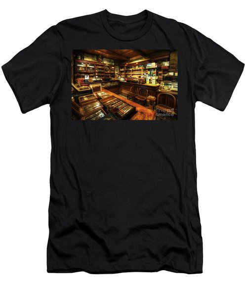 Cigar Shop Men's T-Shirt (Athletic Fit)