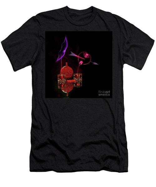 Cinnamon Hearts Men's T-Shirt (Athletic Fit)