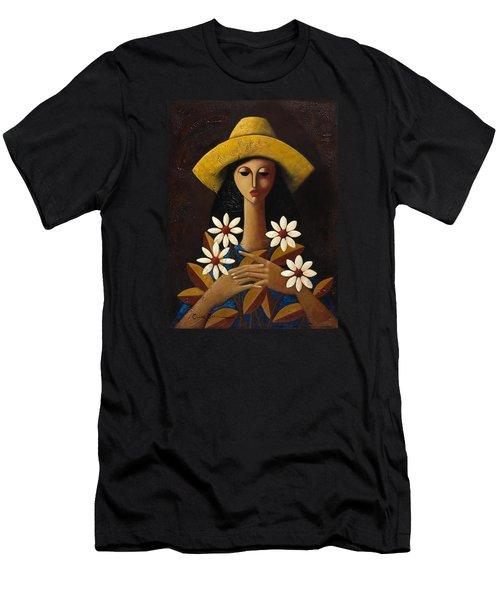 Cinco Margaritas Men's T-Shirt (Slim Fit) by Oscar Ortiz