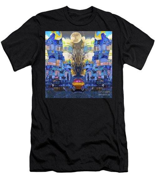 Cinderella's Coach Men's T-Shirt (Athletic Fit)
