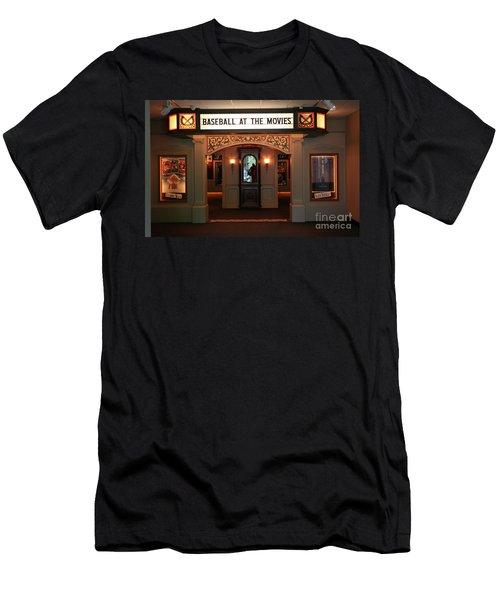 Cinema Interior Baseball Hall Of Fame Ny Men's T-Shirt (Athletic Fit)