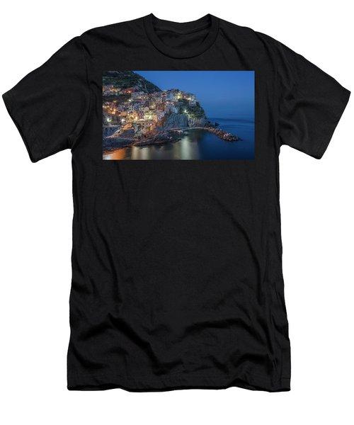 Cinque Terre - Manarola Men's T-Shirt (Athletic Fit)
