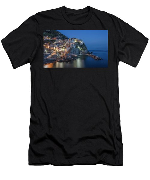 Cinque Terre - Manarola Men's T-Shirt (Athletic Fit)