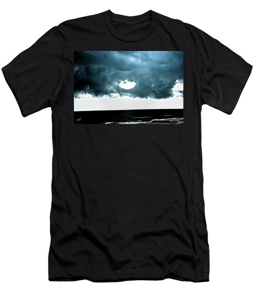 Circle Of Storm Clouds Men's T-Shirt (Athletic Fit)