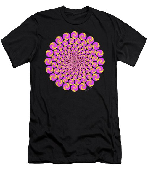 Circles Circus Men's T-Shirt (Athletic Fit)