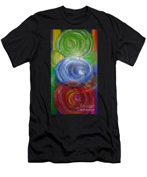 Concentric Joy Men's T-Shirt (Athletic Fit)