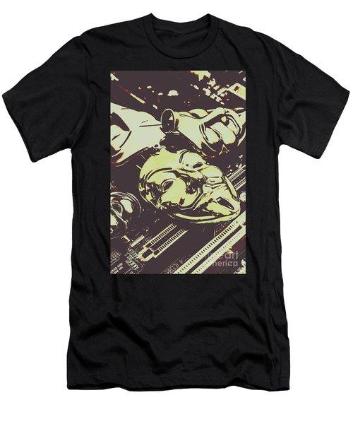 Circuit Justice Men's T-Shirt (Athletic Fit)