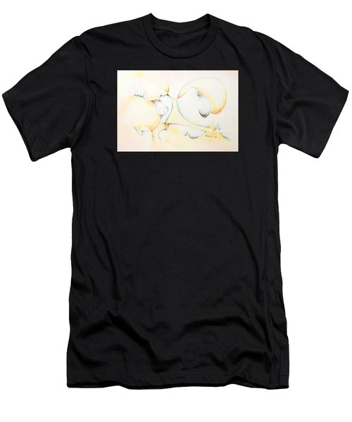 Circular Thoughts Men's T-Shirt (Athletic Fit)
