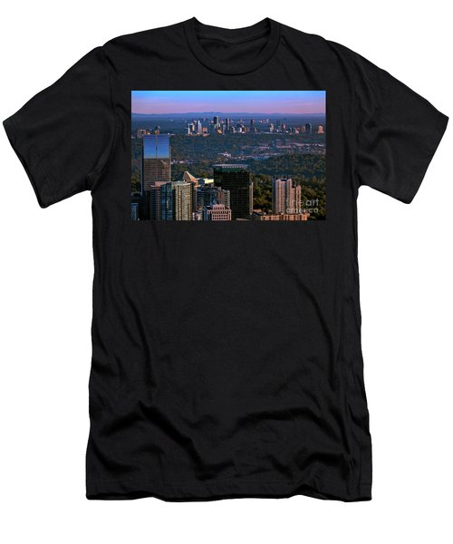 Cities Of Atlanta Men's T-Shirt (Athletic Fit)